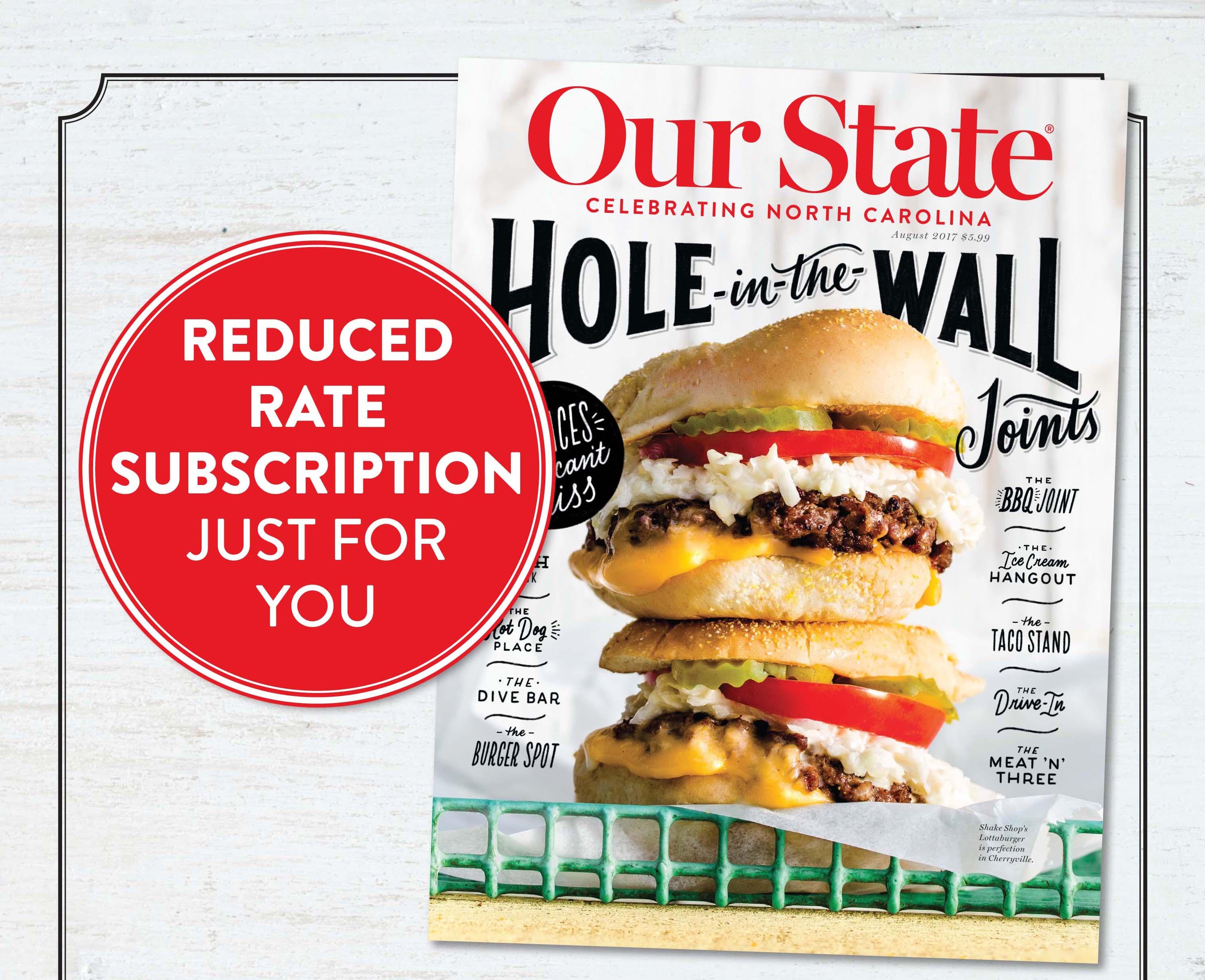 Get Free Copies of Our State Magazine! - Carolina Civic Center